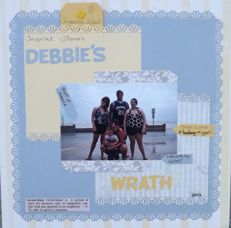 Tropical Storm Debbie's Wrath