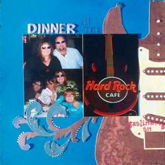 Dinner at the Hard Rock Cafe