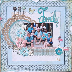 Family (Let Your Creativity Bloom with Prima)
