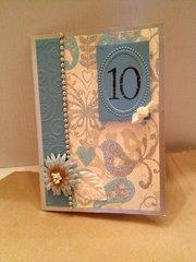10-Year Anniversary Card