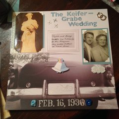 The Keifer-Grabe Wedding Layout