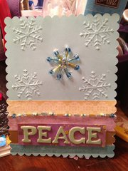 Peace 2 (with beads)