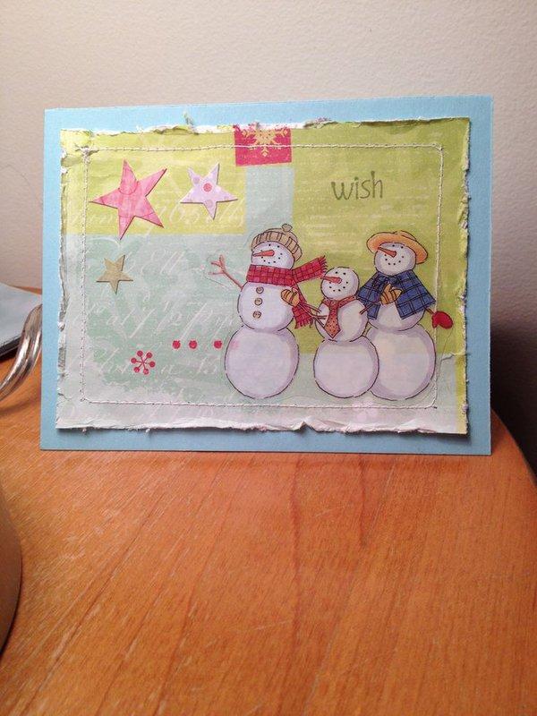 Snowmen Wish Upon a Star