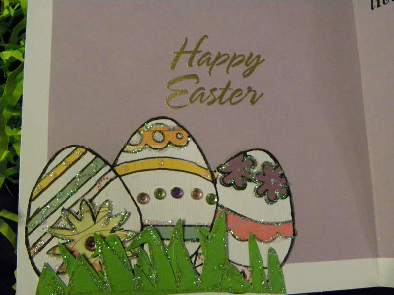 Easter Bunny Card part2