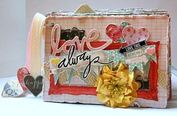 Love Always Mini Album for My Creative Scrapbook