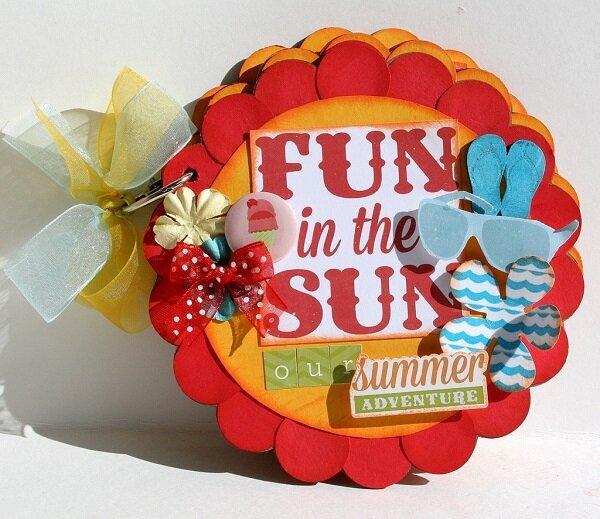 Fun In the Sun Mini Album *My Creative Scrapbook-