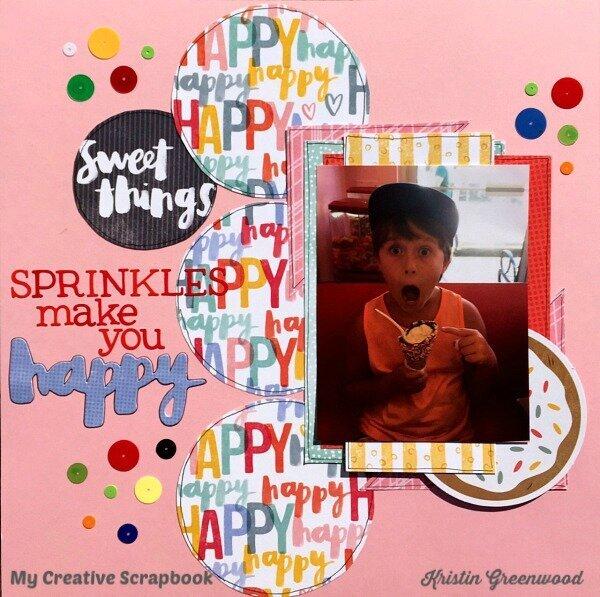 Sweet Things**My Creative Scrapbook**