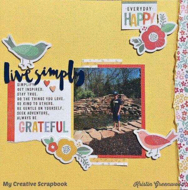Live Simply**My Creative Scrapbook**