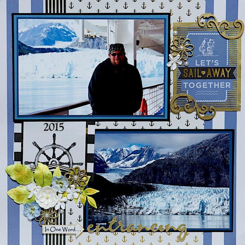 Margerie Glacier, Glacier Bay, Alaska - RIGHT SIDE