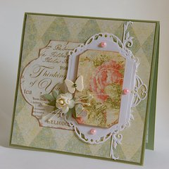 Thinking of You - 6x6 Card