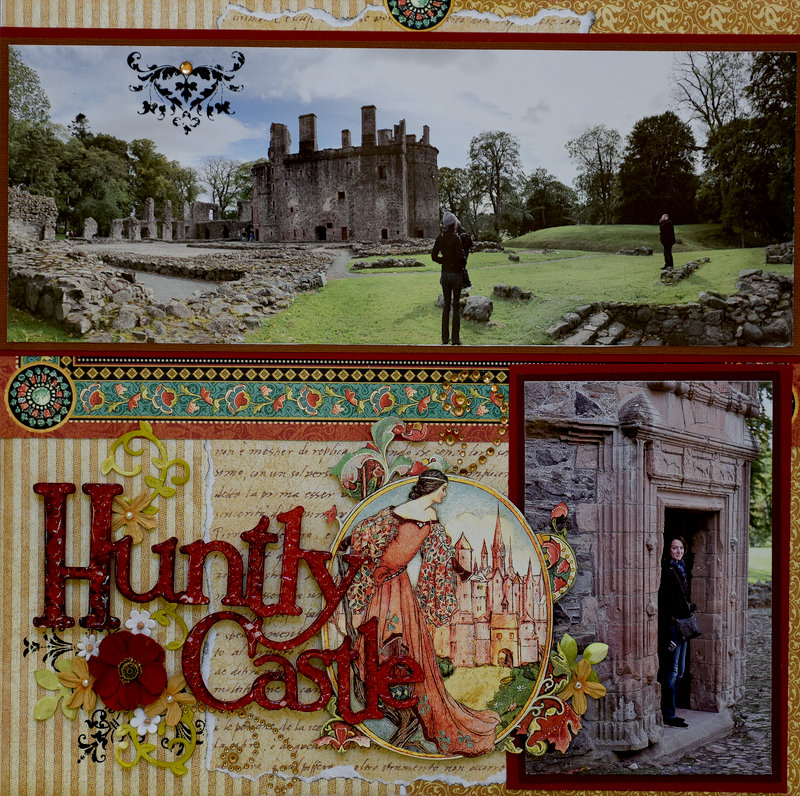 Huntly Castle, Scotland - LEFT SIDE