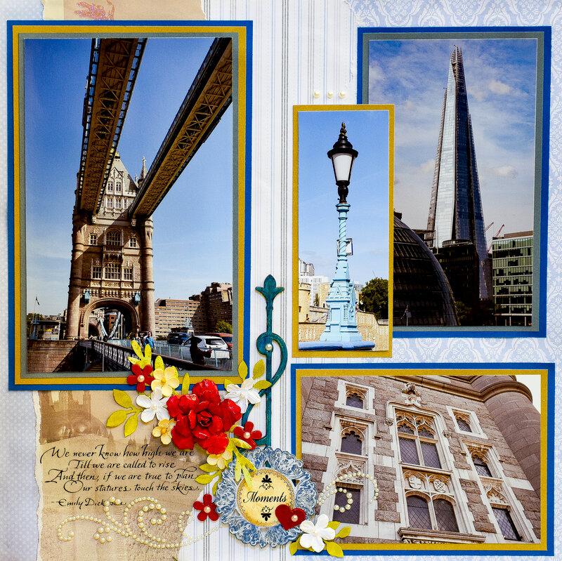 TOWER BRIDGE, London UK - RIGHT SIDE
