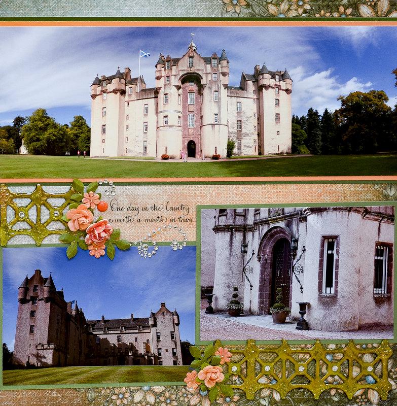 Fyvie Castle, Scotland - RIGHT SIDE