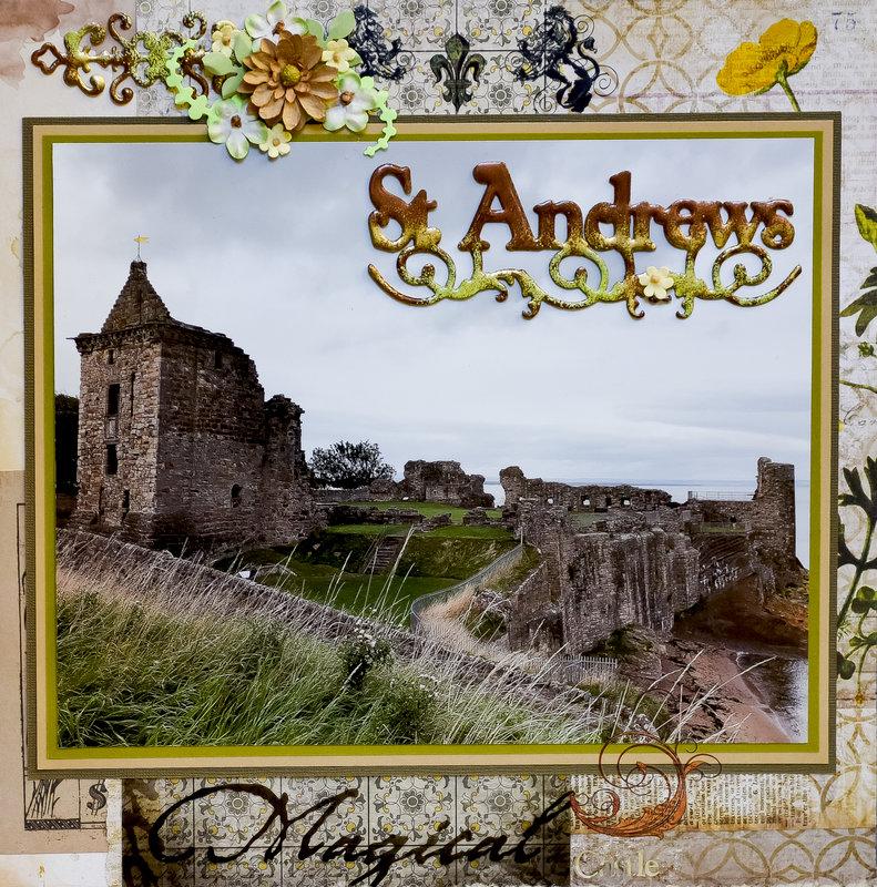 St. Andrews Castle, Scotland - LEFT SIDE