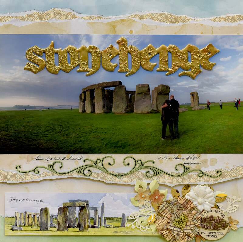 Sunrise at Stonehenge, UK - LEFT SIDE