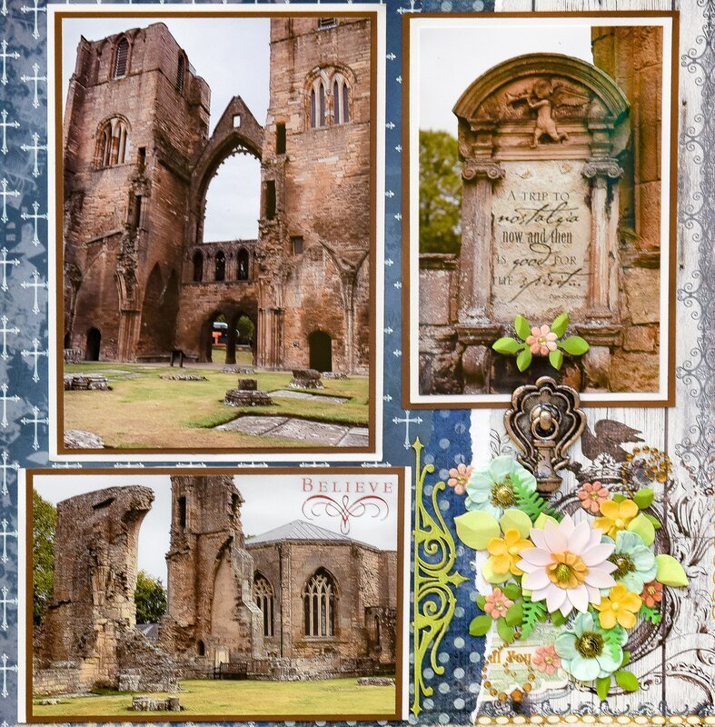 Elgin Cathedral, Elgin, Scotland - RIGHT SIDE