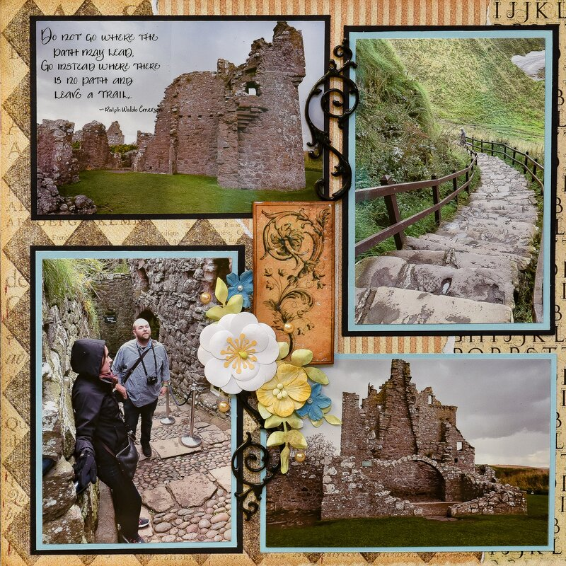 Dunnottar Castle, Stonehaven, Scotland - RIGHT SIDE