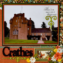 Crathes Castle Garden, Scotland - LEFT SIDE