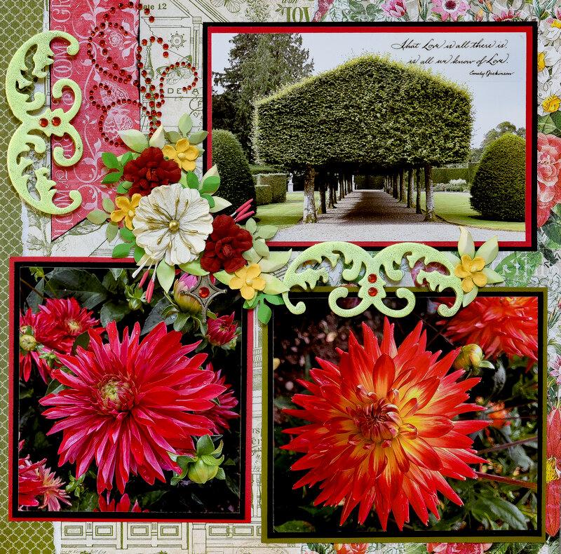 Glamis Castle Garden, Scotland - RIGHT SIDE