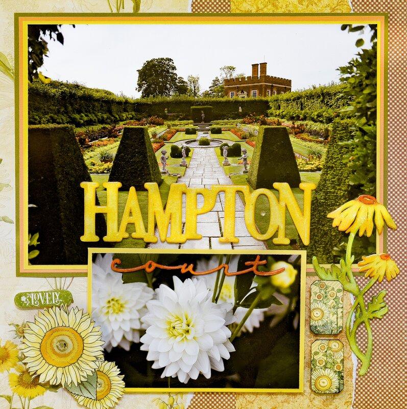 Hampton Court Palace, England - LEFT SIDE