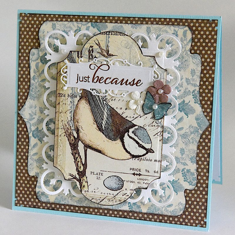 Just Because - 6x6 Card