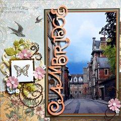 Cambridge,  England - LEFT SIDE