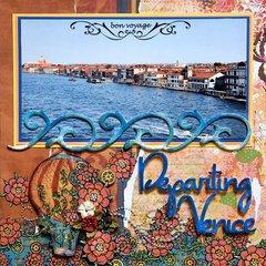 Departing Venice - LEFT SIDE