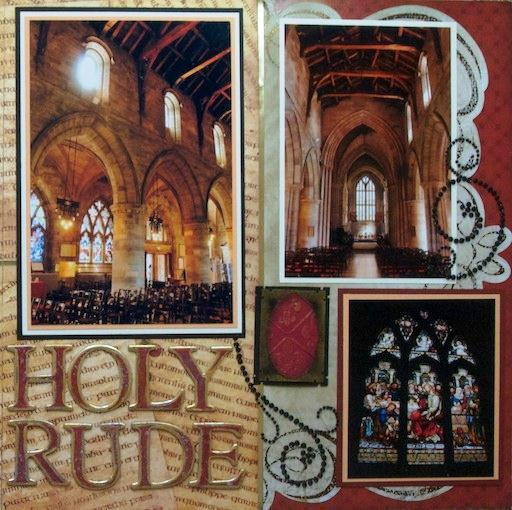 The Church of the Holy Rude, Sterling, Scotland - RIGHT SIDE SIDE