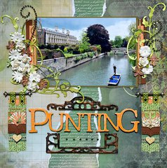 Punting - Cambridge, England - RIGHT SIDE