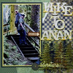 Hike to Anan Creek, Alaska - RIGHT SIDE