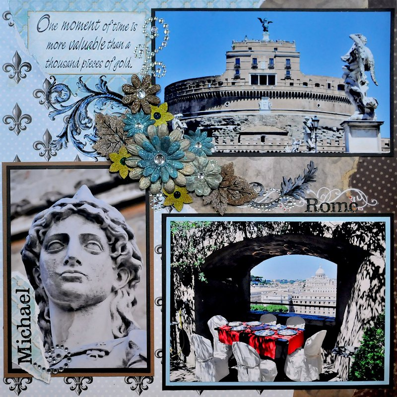 Castel Sant Angelo, Rome, Italy - RIGHT SIDE
