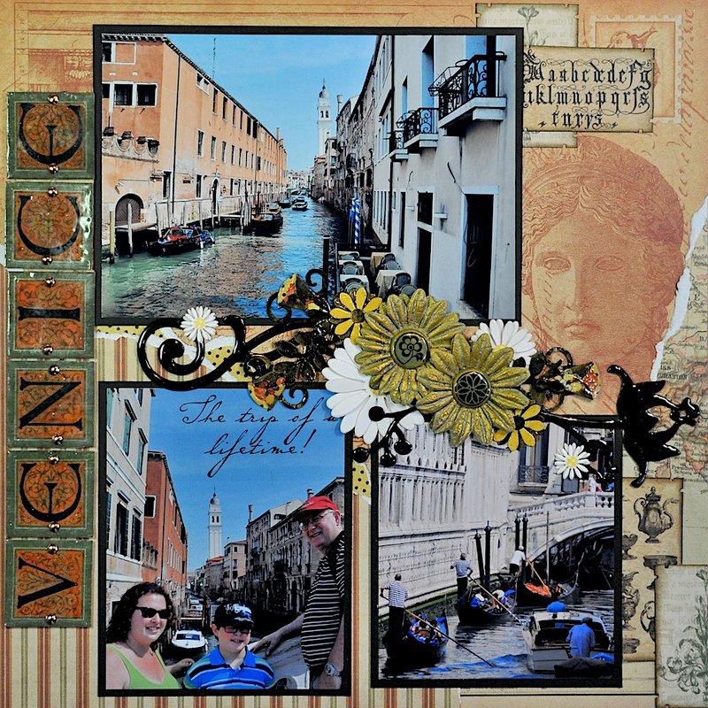Venice, The Bridge of Sighs - LEFT SIDE