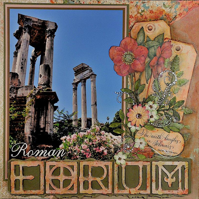 The Roman Forum - Left Side
