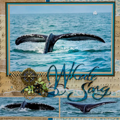 Whale Song - Alaska - LEFT SIDE