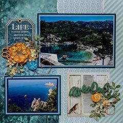 Corfu, Greece - LEFT SIDE