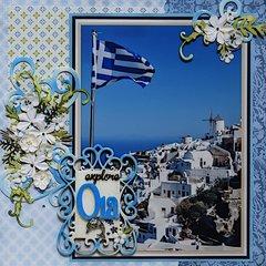 Oia, Santorini, Greece - LEFT SIDE