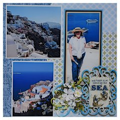 Oia, Santorini, Greece - RIGHT SIDE