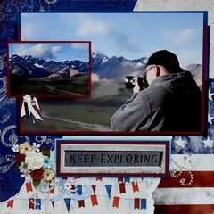 Eielson Visitor Center, Denali, Alaska - RIGHT SIDE
