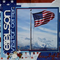 Eielson Visitor's Center, Denali, Alaska - LEFT SIDE