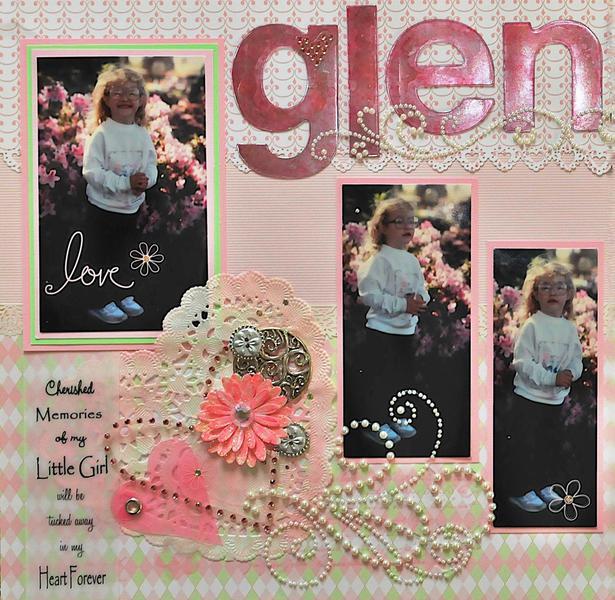 My Little Girl ~ Glenna  LEFT SIDE
