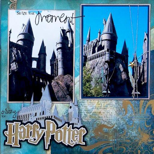 Harry Potter - Hogwarts, Universal Studios, Florida - RIGHT SIDE