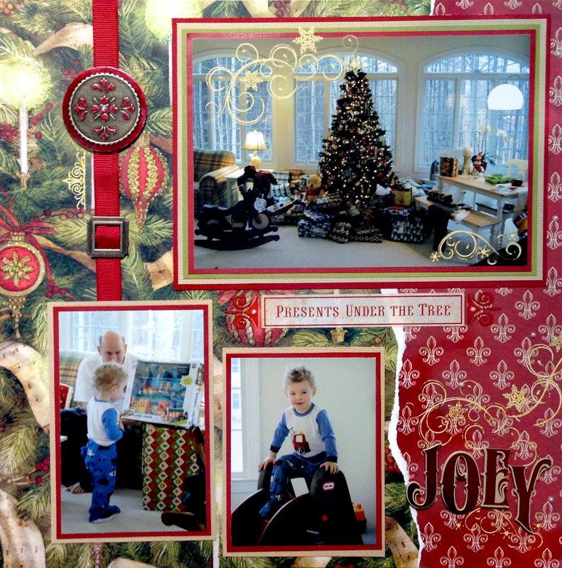 Christmas Morning - LEFT SIDE