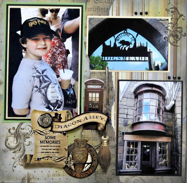 Hogsmeade, Universal Studios FL - LEFT SIDE