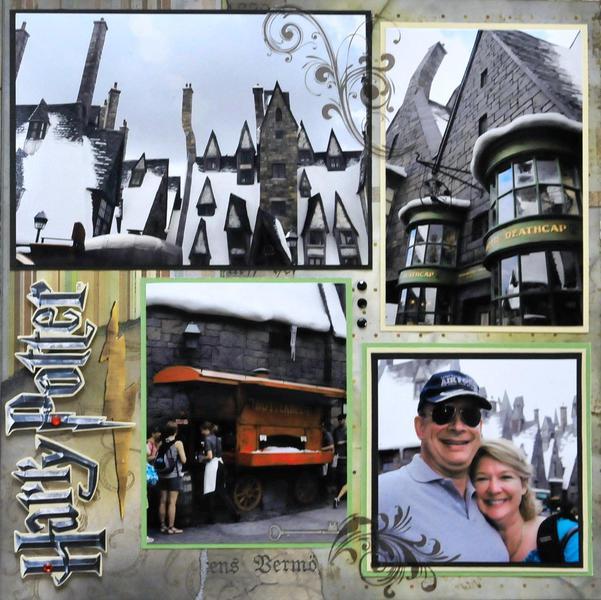 Hogsmeade, Universal Studios FL - RIGHT SIDE