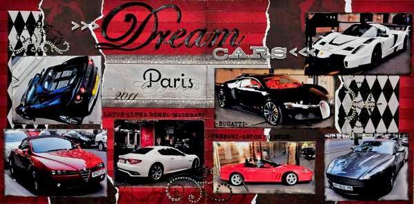 Dream Cars in Paris~