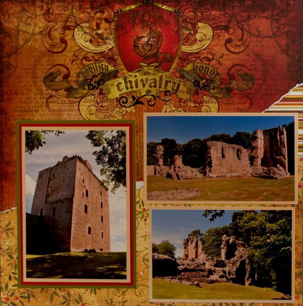 Spynie Palace, Scotland - LEFT SIDE