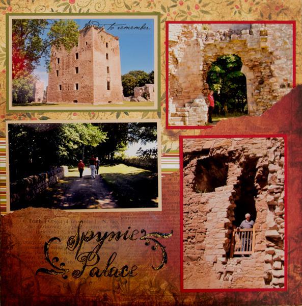 Spynie Palace, Scotland - RIGHT SIDE