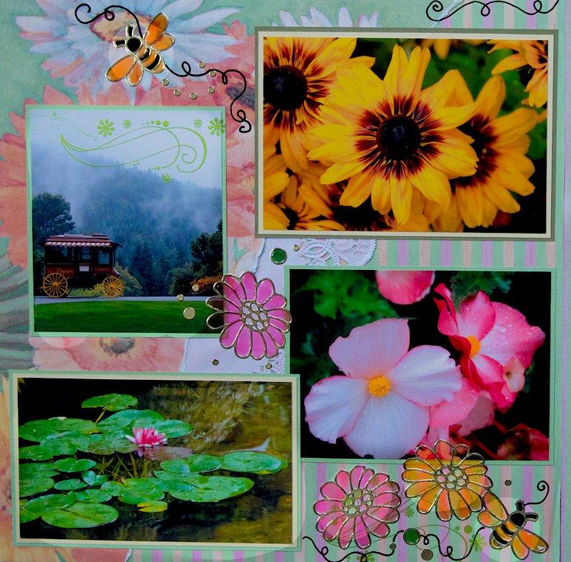 Buchart Gardens, Victoria, BC - LEFT SIDE