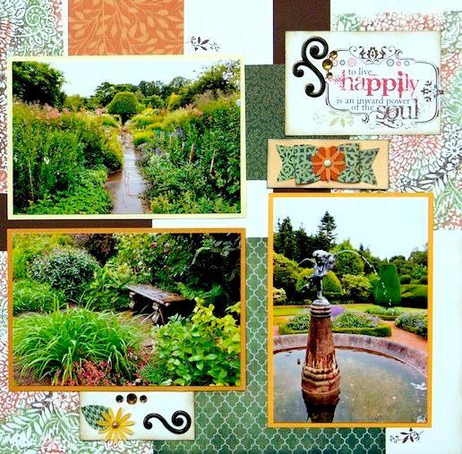 Crathes Castle Garden, Scotland - RIGHT SIDE