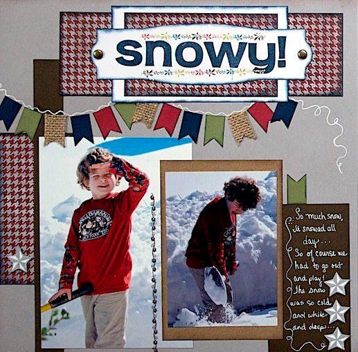 Snowy!   - LEFT SIDE